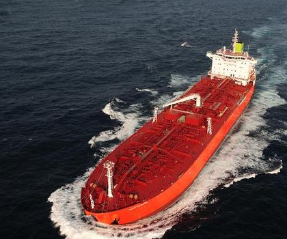 Cargo line clearance safe procedure for chemical tankers