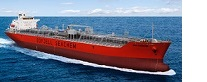 chemical tanker navigation at sea
